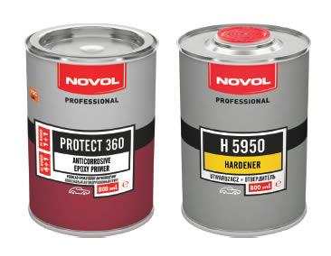 NOVOL 37200 PROTECT 360 Епоксидний грунт 1+1 антикорозійний, 0,8л