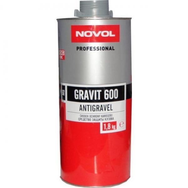 Novol 37814 GRAVIT 600 Антигравійне покриття MS 1,8 л сіре