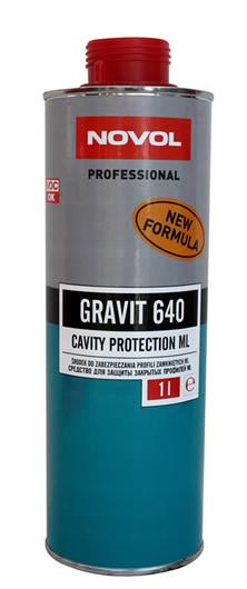Novol 37701 GRAVIT 640 Препарат для захисту закритих профілей 1 л