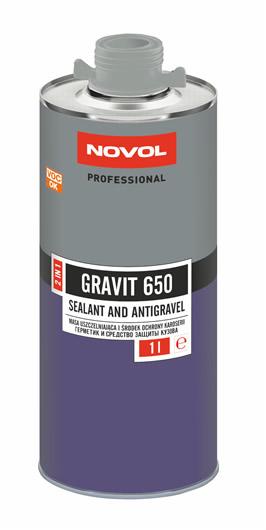 Novol 37761 GRAVIT 650 Антикорозійне покриття+герметик 2 в 1 1 л сірий