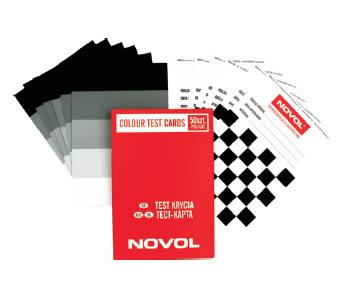 NOVOL 39158 Тест карти для фарби 50 шт.