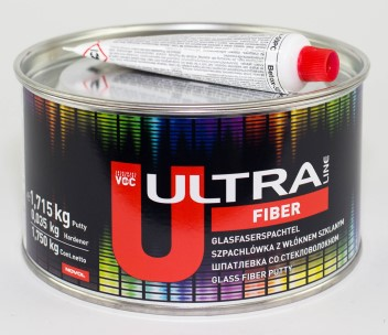 NOVOL ULTRA LINE 99124 Шпатлевка FIBER 1.75 кг