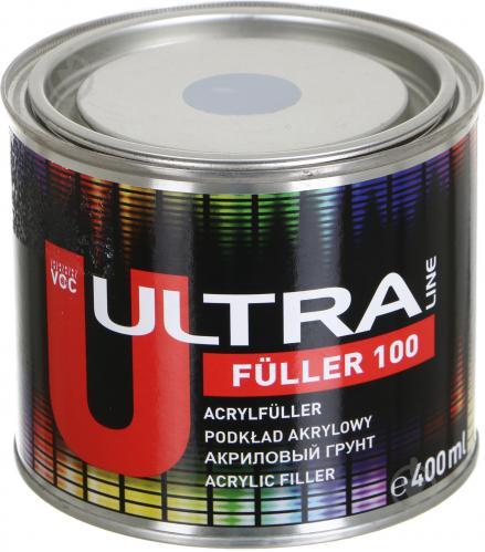 NOVOL ULTRA LINE FULLER 99312 100 Акріловий грунт 5+1 0.4 л, сірий