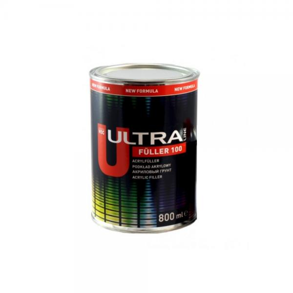 NOVOL ULTRA LINE FULLER 100 Акріловий грунт 5+1, сірий, 0.8 л