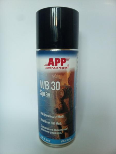 APP 212010 Засіб для зняття іржі в аерозолі WB30 400 мл