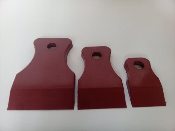 APP 120303 Шпателя резиновые мягкие коричневые (3 шт)