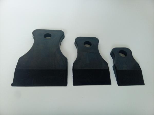 APP 120304 Шпателя жесткие черные (3 шт)
