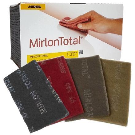 MIRKA MIRLON Total Шліфувальне волокно 115x230 mm сірий XF Р800 1 шт