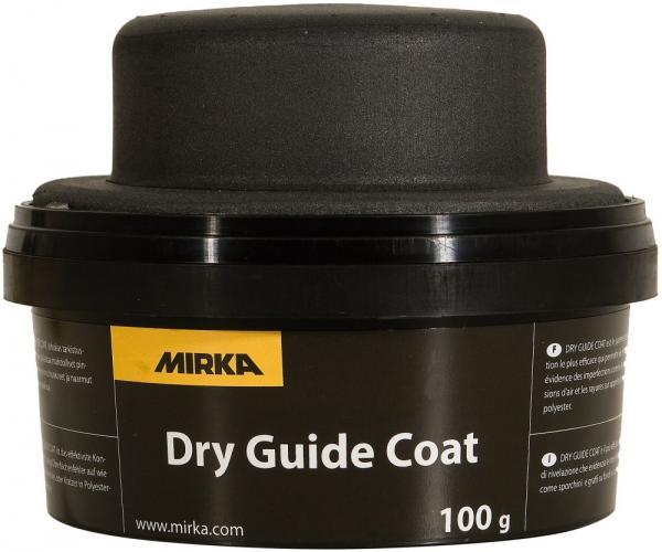 MIRKA  Сухе проявне покриття чорне 100г