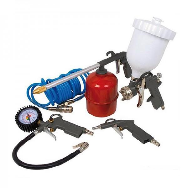 00216 Набір фарбувальних пістолетів 5PCS-2