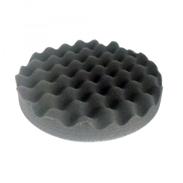02475 Круг полировальный волнистый черный D150х25 WaveFinish