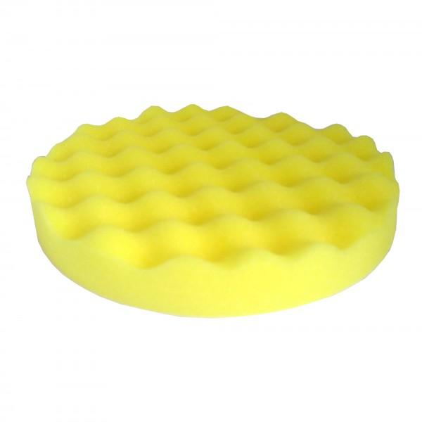 02473 Круг полировальный волнистый желтый D150х25мм WavePolish