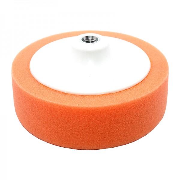 06338 Круг полировальный на платформе оранжевый D150х50мм М14х2мм