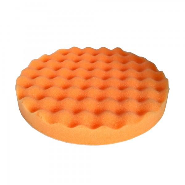 05854 Круг полировальный волнистый оранжевый 180*25мм