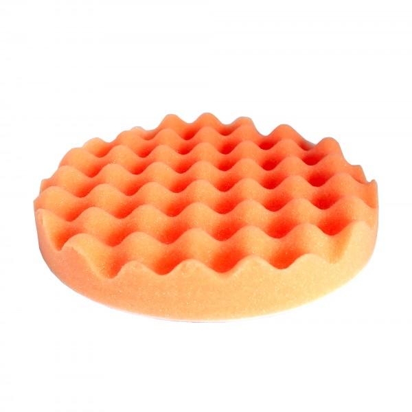 06344 Круг полировальный волнистый оранжевый D80*25 мм