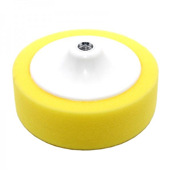 02476 Круг полировальный на платформе желтый D150х50 мм BigCompоund