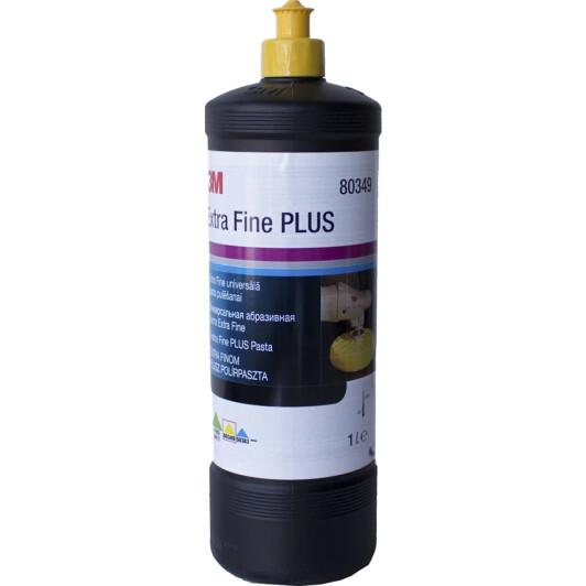 80349 3М Абразивная паста  для твердых покрытий EXTRA FINE желтая 1 л