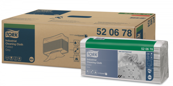 TORK Нетканый матер. универсал 520 серый в салфетках 35,5х42,8см 120 листов