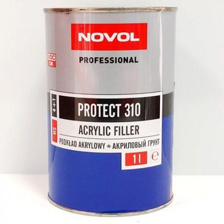 NOVOL 37111 Грунт акріловий PROTECT 310 4+1, 1 л, сірий