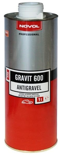 Novol 37831 GRAVIT 600 Антигравійне покриття MS 1 л білий