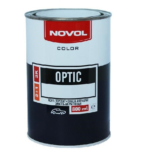 NOVOL Optic Автоэмаль Реклама 121 0,8 л