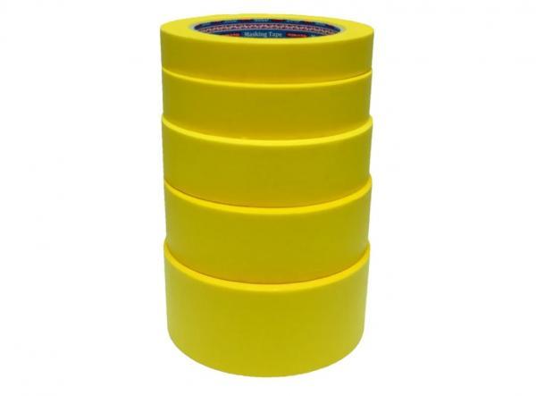 SOTRO GOLD 53024 Скотч малярний 24 мм*45 м (лимонний)